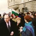 Януари 1997 година. Божидар Чеков с няколко приятели организираха в Париж протести в знак на солидарност с протестите в София.