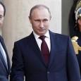 """Руският президент пристигна в Париж. На упреците, че бомбардира групировки обучени и въоръжени от Запада, той отговори: """"Ал Нустра, филиал на Ал Кайда, атакува няколко пъти руското посолство в Дамас. […]"""